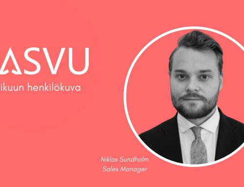 Huhtikuun henkilökuva: Qasvun Sales Manager Niklas Sundholm