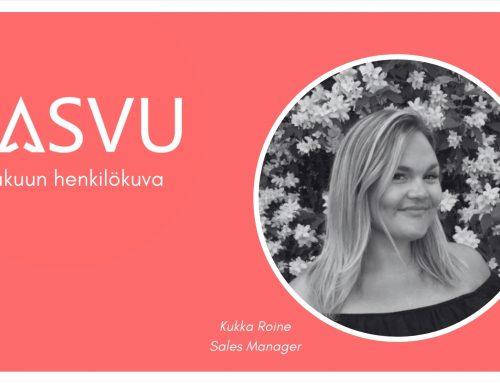 Kesäkuun henkilökuva: Qasvun Sales Manager Kukka Roine