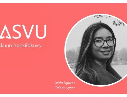 Lokakuun henkilökuva: Qasvun Talent Agent Linda Nguyen